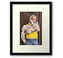 Me and my Girl (Kimberly & Mia) Framed Print