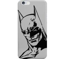 Batman - Minimal Figure the Dark Knight iPhone Case/Skin