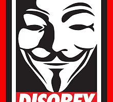 Disobey V for Vendetta by monsterplanet