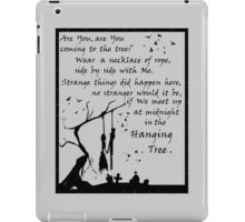 Hunger Games - The Hanging Tree Song (2) iPad Case/Skin