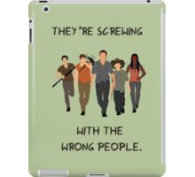 The Walking Dead - Carl, Rick, Glenn, Daryl, Michonne iPad Case/Skin