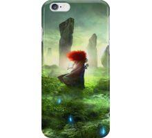 The Brave - Merida Walking iPhone Case/Skin