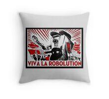 Borderland - Clap Trap Viva la Robolution Throw Pillow