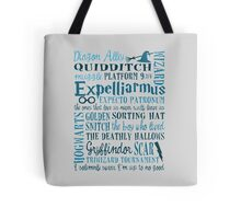 Harry Potter - All Books Quotes  Tote Bag