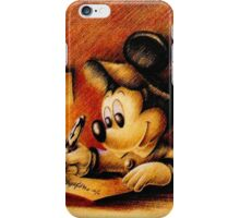 Disney - Mickey Mouse Writing iPhone Case/Skin