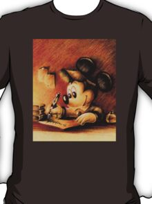 Disney - Mickey Mouse Writing T-Shirt