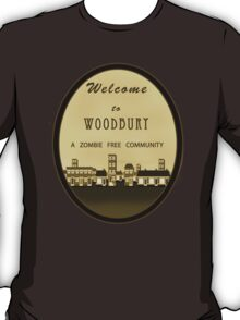 The Walking Dead - Welcome to Woodbury T-Shirt