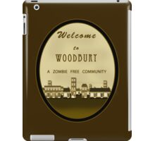 The Walking Dead - Welcome to Woodbury iPad Case/Skin