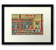 Pier Head Cafe  Framed Print