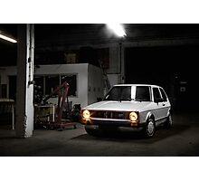 Volkswagen Golf GTI MK1 Photographic Print