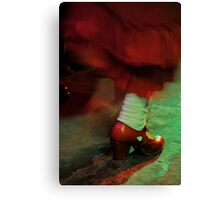 Flamenco flowing Canvas Print