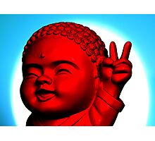 Peace Buddha Photographic Print
