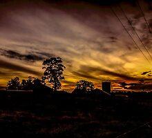 Silverdale Sunset (5) NSW, Australia by Josette Halls
