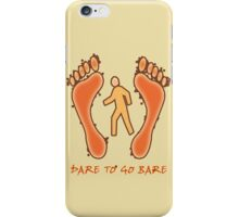 Barefoot iPhone Case/Skin