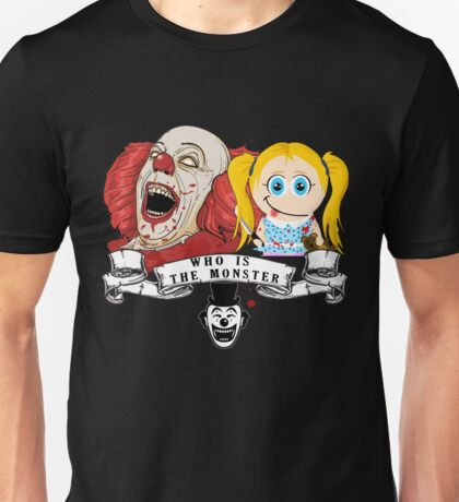 who is monster? Unisex T-Shirt