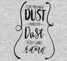 Dust to Dust by sadiesavesit