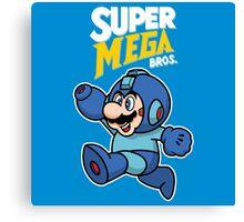 Super Mega Bros. Canvas Print