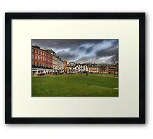 Exeter Cathedral Square Framed Print
