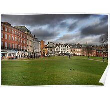 Exeter Cathedral Square Poster