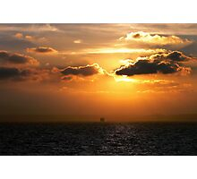 Ferry Crossing from Calais to Dover Photographic Print