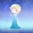 Frozen Elsa by Paulo Capdeville