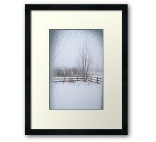 Belated Winter Framed Print