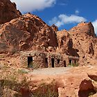 """Cabins,"" Valley Of Fire, Nevada by Eleu Tabares"