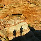 """The Shadows,"" Red Rock Canyon, Nevada by Eleu Tabares"