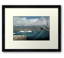 Arizona Memorial Framed Print