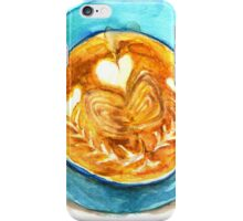 hearts and coffee iPhone Case/Skin