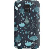 Frozen Flowers Pattern Samsung Galaxy Case/Skin