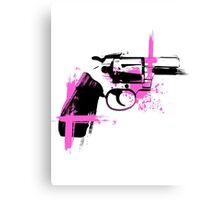 Colt- pink Canvas Print