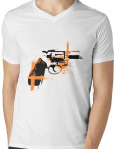 Colt - orange Mens V-Neck T-Shirt