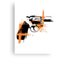 Colt - orange Canvas Print