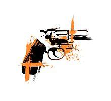 Colt - orange Photographic Print