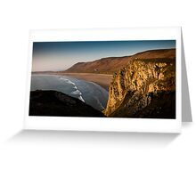 Rhossili bay Gower Greeting Card