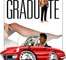 Alfa Romeo Duetto The Graduate by car2oonz