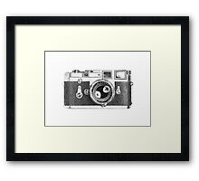 Leica M3 Drawing Framed Print
