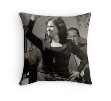 Bulerias Throw Pillow