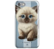 Cat-a-Clysm: Siamese kitten iPhone Case/Skin