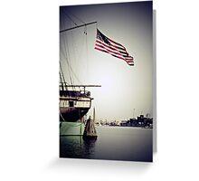 Prideful Harbor Greeting Card