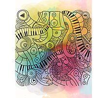 Sheet Music piano  Photographic Print