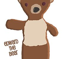 Edward The Bear (in cartoon form) by SQ Tees