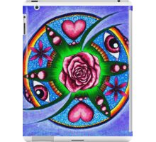 Rose Mandala for clear sight iPad Case/Skin