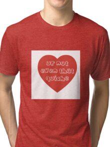 Quiche Heart Tri-blend T-Shirt