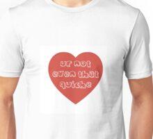 Quiche Heart Unisex T-Shirt