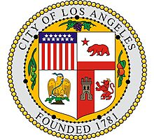Seal of Los Angeles  Photographic Print