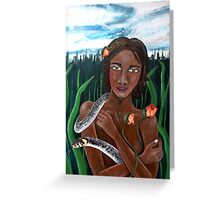 Eve of Eden Greeting Card