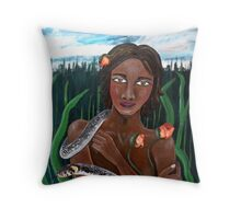 Eve of Eden Throw Pillow
