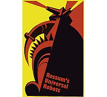 RUR - universal robot - android Photographic Print